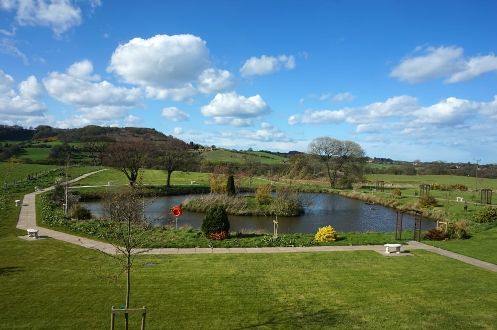 Ox pasture hall hotel room view