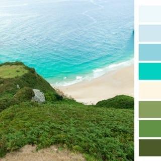 Coastal moodboard