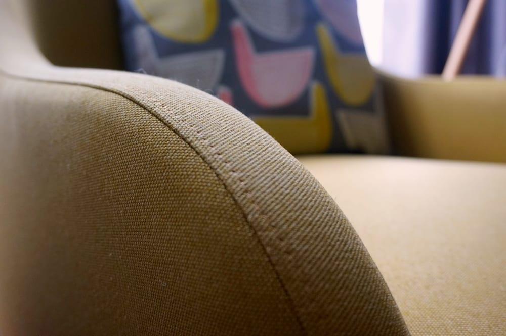 Habitat chair closeup