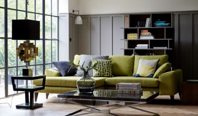 Design: Nostalgic 50s and 70s Fusion from DFS