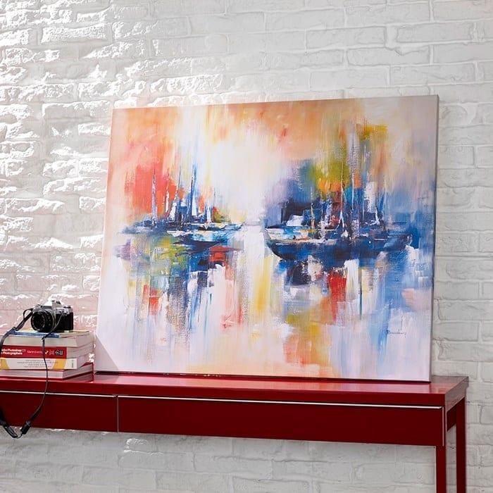 sailing wall art