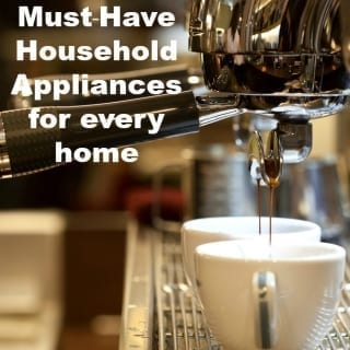 6 must-have household appliances for every home