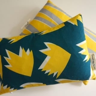 Sunny Toddy Prints cushion design