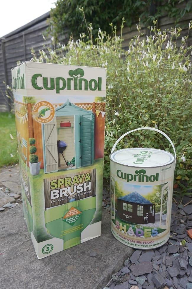 Cuprinal Spray and Brush