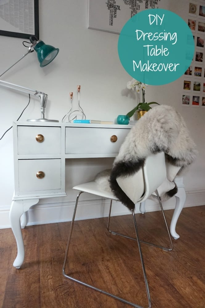 DIY Dressing table makeover tutorial