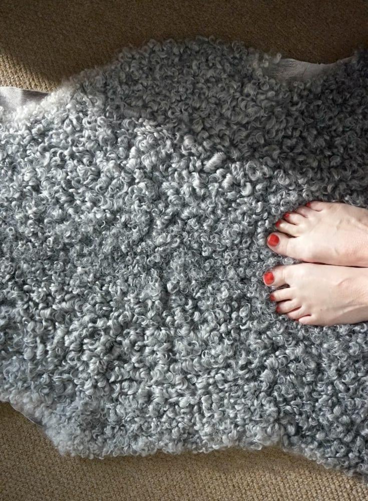 swedish sheepskin rug
