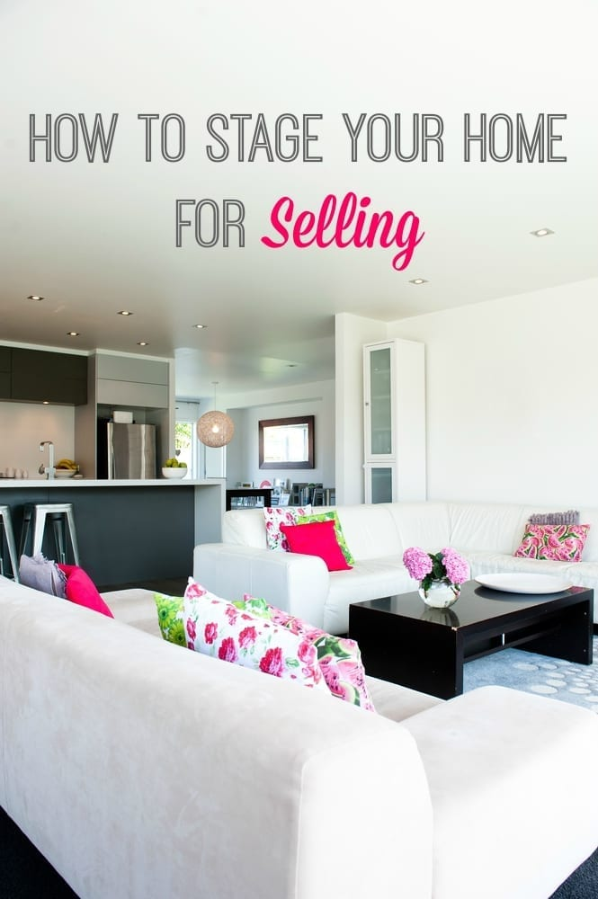 how to stage your home for selling love chic living