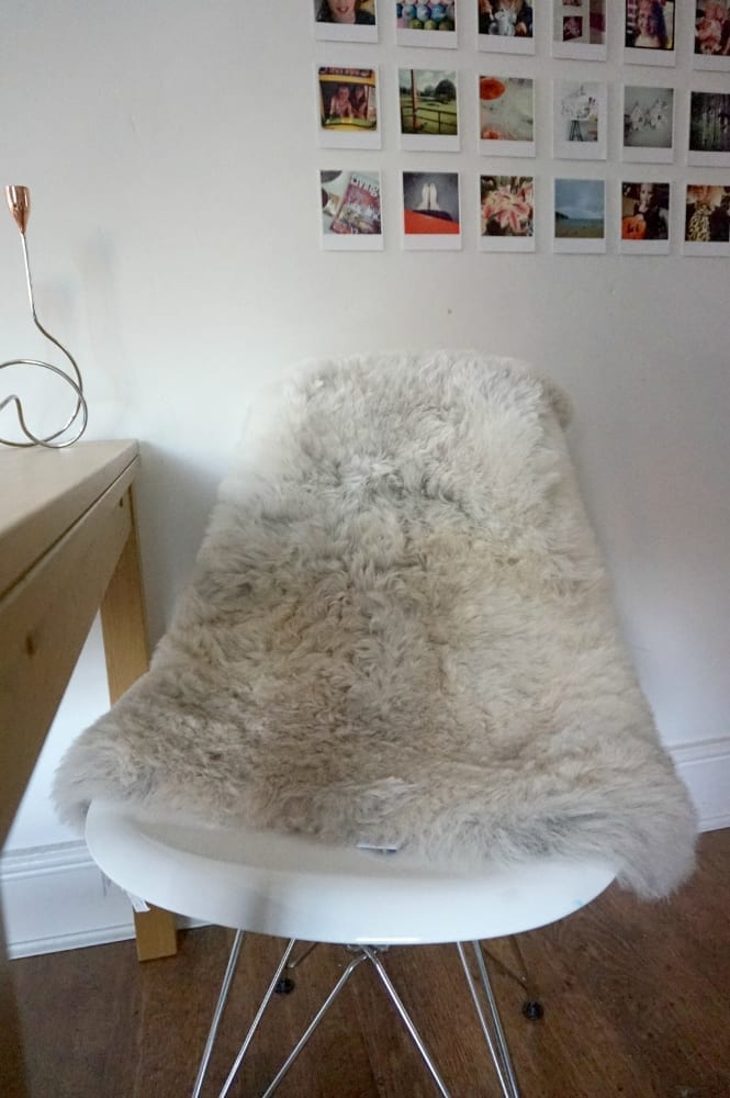 3 Ways With Sheepskin Rugs Love Chic Living