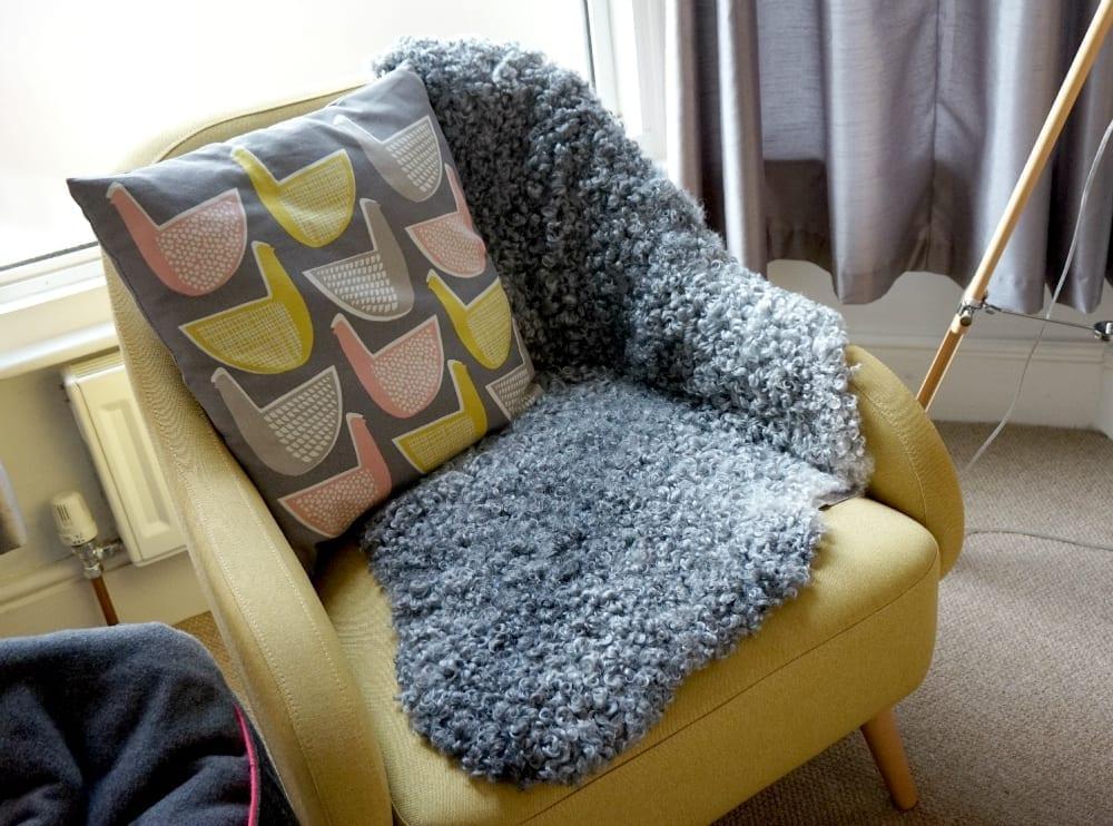 Sheepskin pelt from Sheep Shop