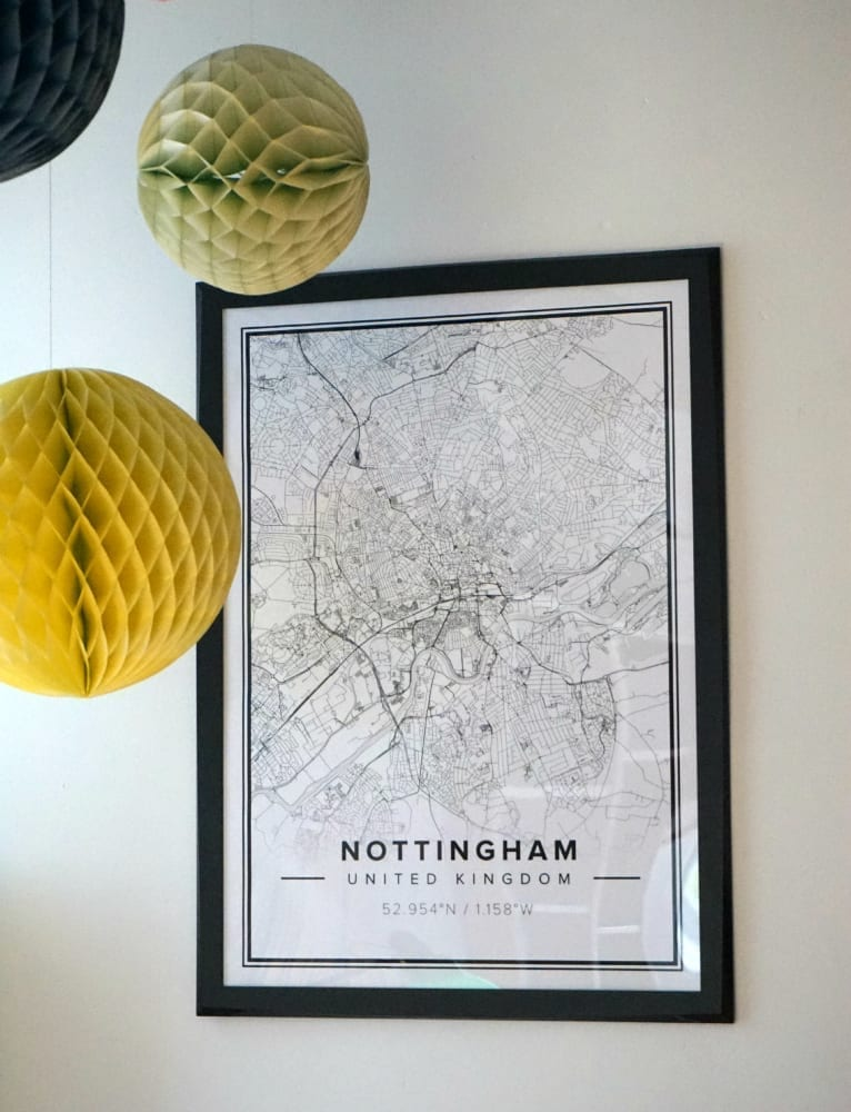 Mapiful Personalised Map Posters Love Chic Living