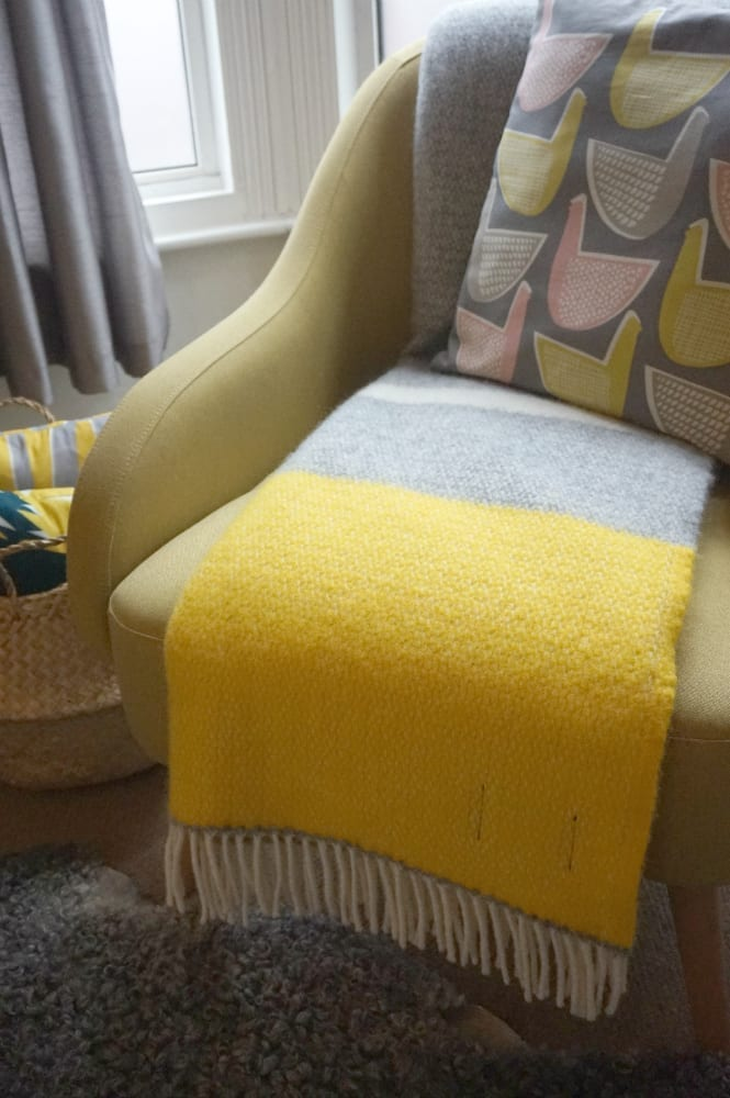 Blanket on chair