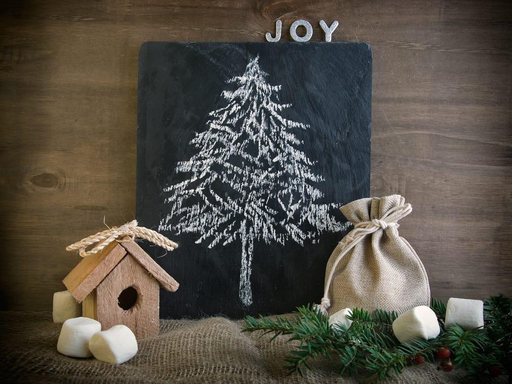 Modern alternatives to a traditional christmas tree