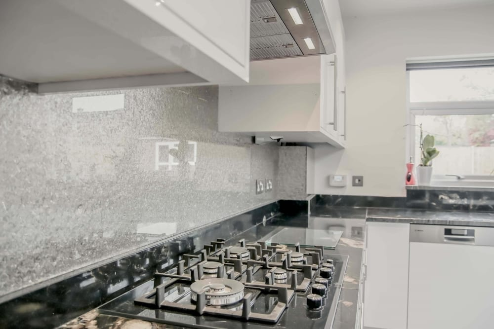 Finishing Touches Kitchen Glass Splashbacks Love Chic Living