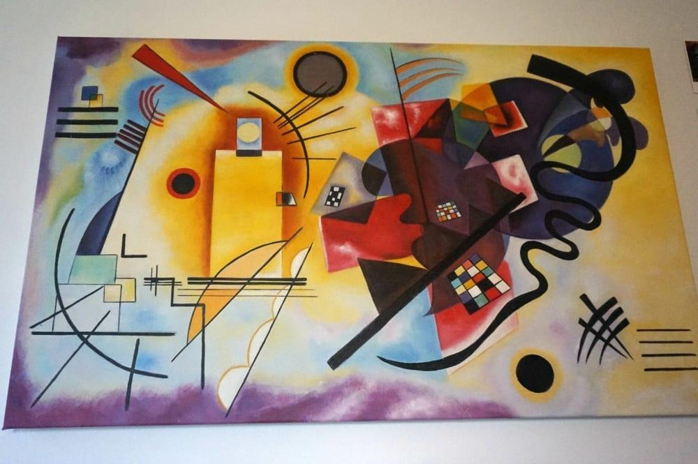 Kandinsky wall art