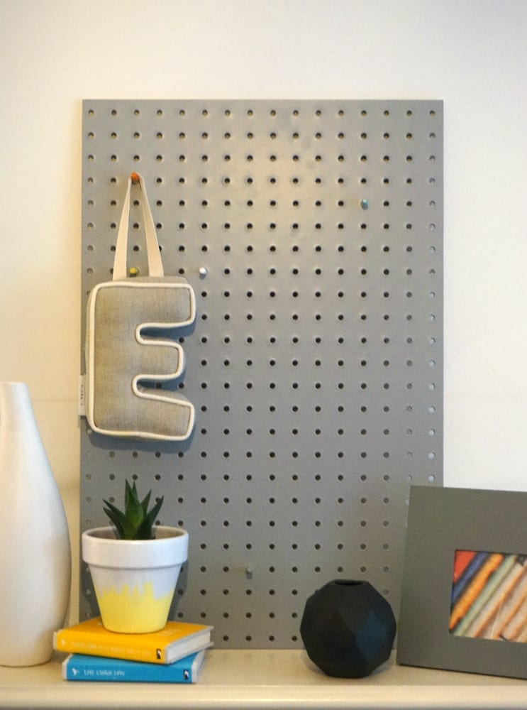Pegboard at Rose and Grey
