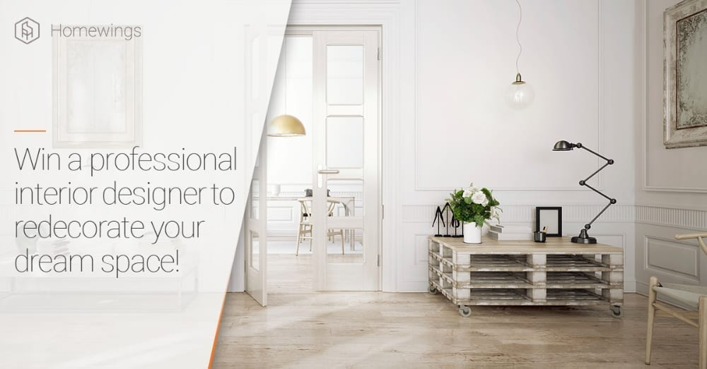 Win an Interior designer to redecorate your space