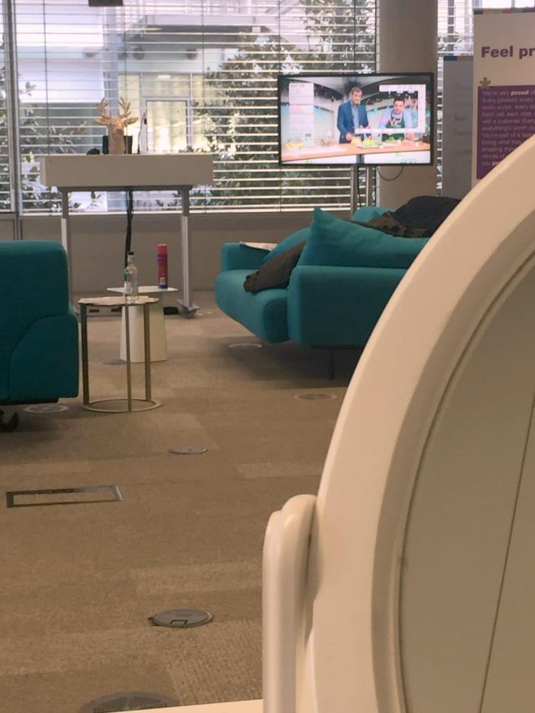 qvc green room