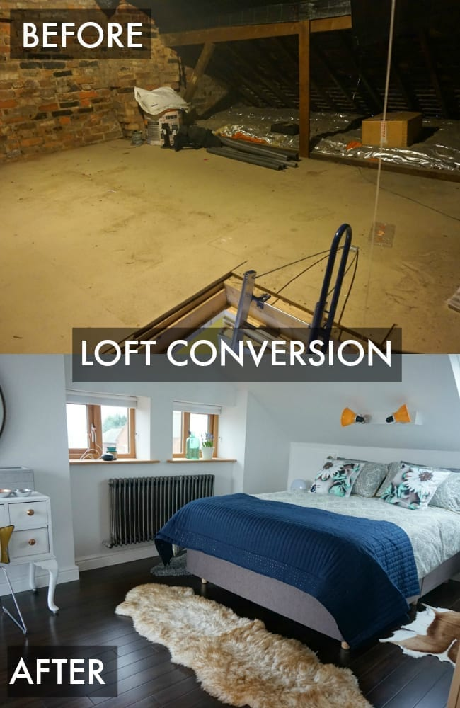 Loft Conversion Room Reveal ProjectAttic Love Chic Living