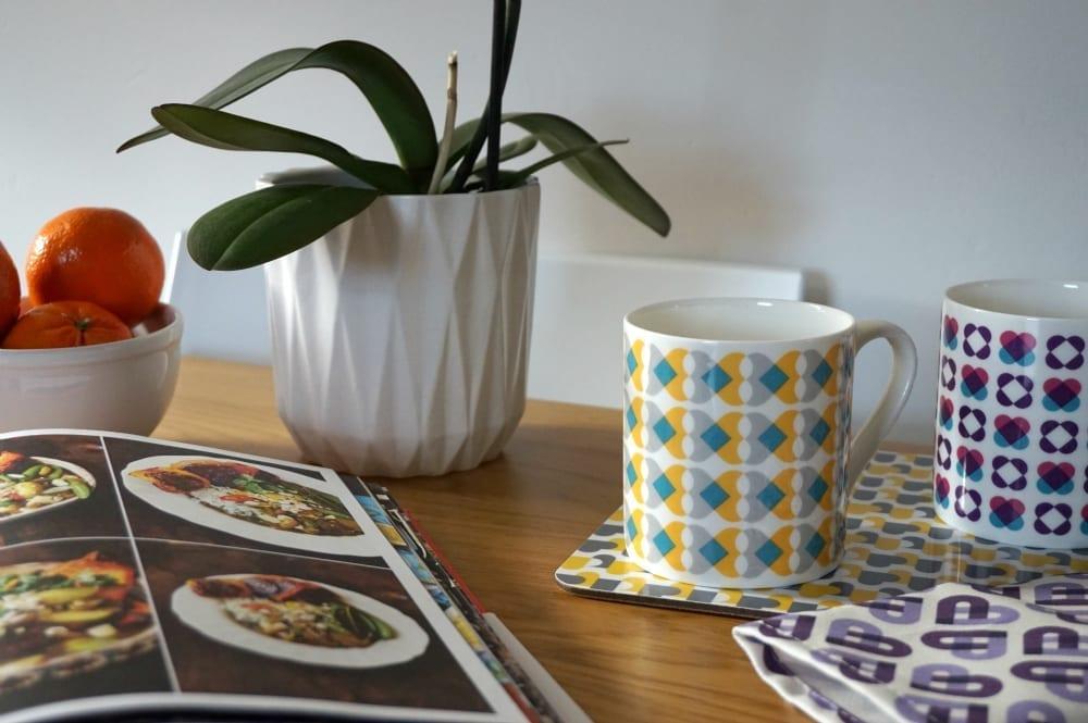 Cordello home mugs