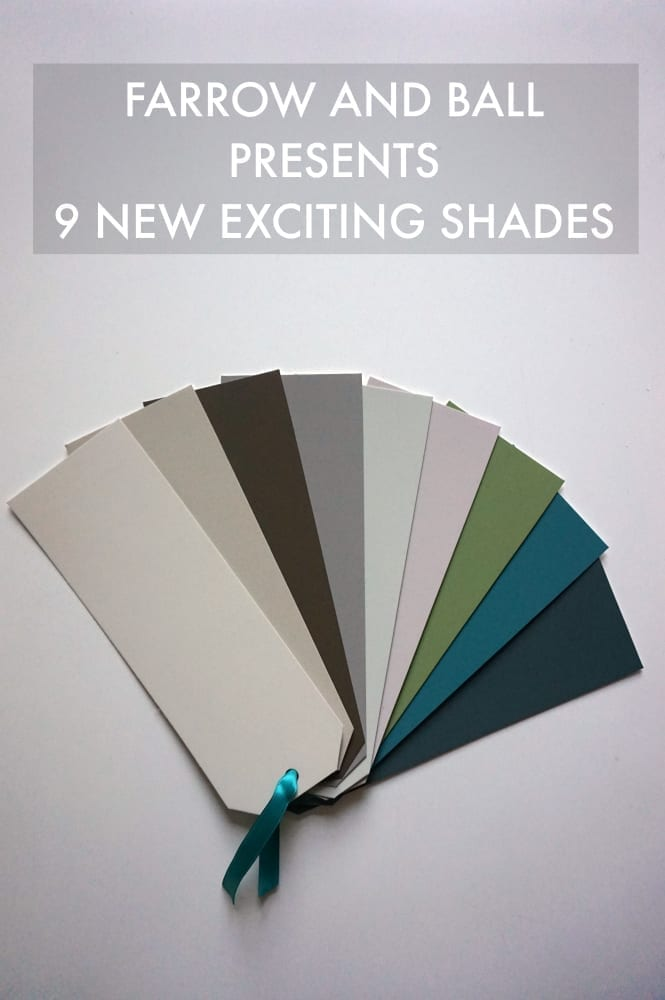 Farrow and Ball new shades