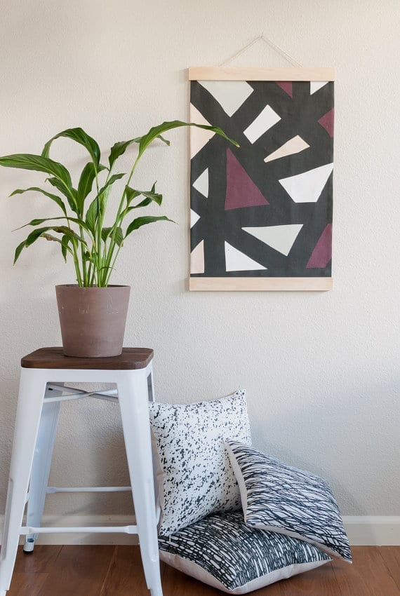 modern wall hanging