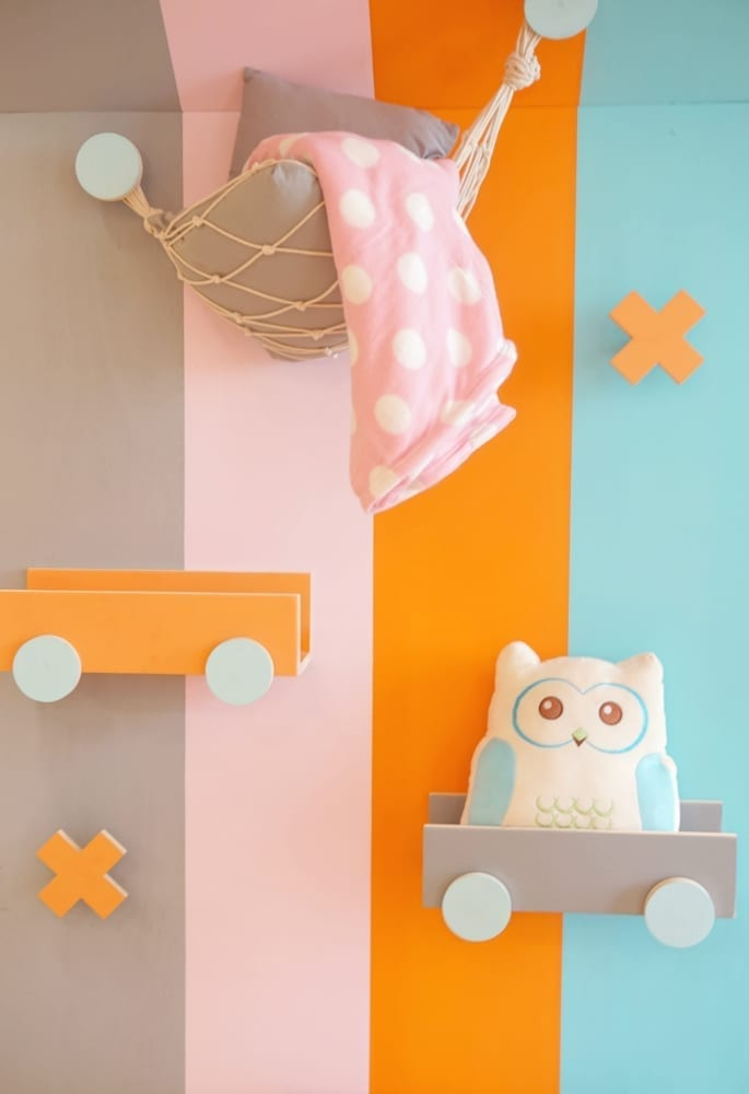 Kids playroom wall