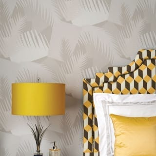 Wallpaper Wednesday: Deco Palm from Cole and Son
