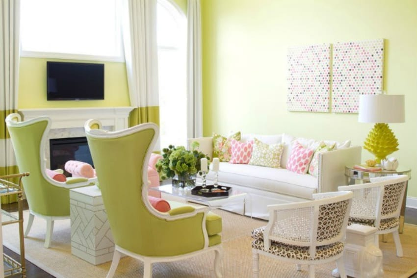 5 spring interior design tips for your home love chic living for Interior decorating help