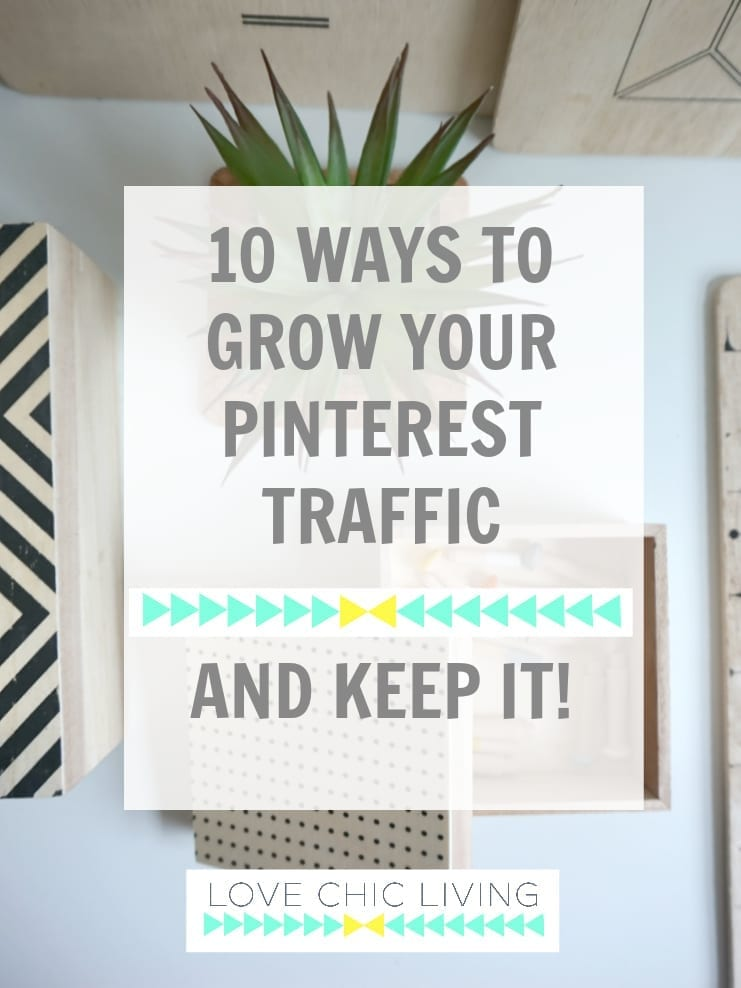 Have you been using Pinterest for fun and no want to know how to grow your Pinterest traffic? And keep those readers on your site? This is how I achieve tens of thousands of hits every month, with the only 10 ways to achieve it you're going to need. Perfect for bloggers, entrepreneurs and small businesses. Click through to find out more.