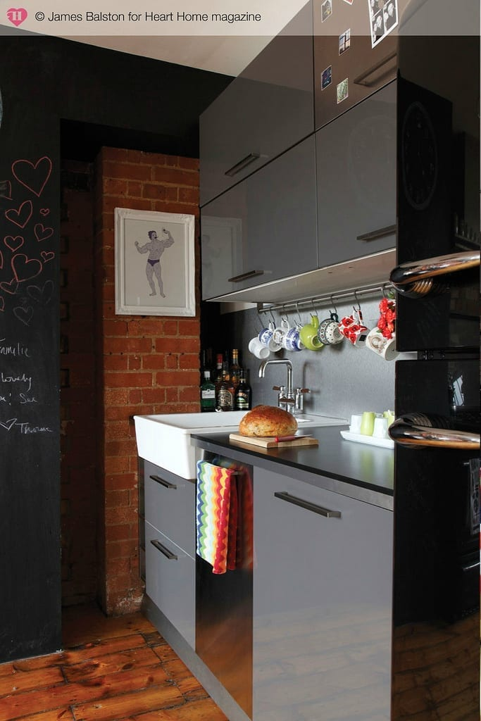 7 Clever Design Ideas For A Small Kitchen Love Chic Living