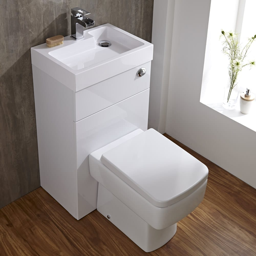 Toilet Sink Unit : Big Ideas for Small Cloakrooms - Love Chic Living