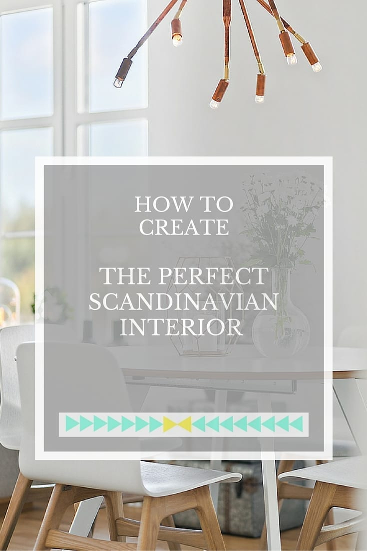 Great tips, advice and inspiration on how to put together a Scandinavian home interior. Click through to find out more about how to achieve this stylish on-trend look.