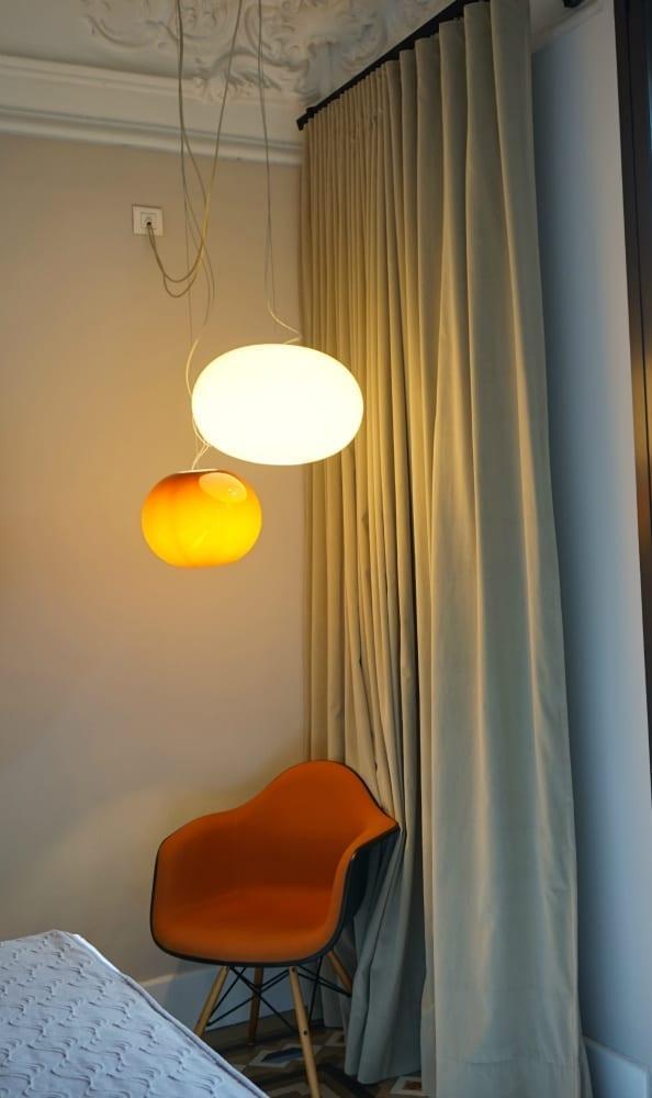 Hotel Alexandra lighting