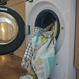 Siemens washing machine bedding
