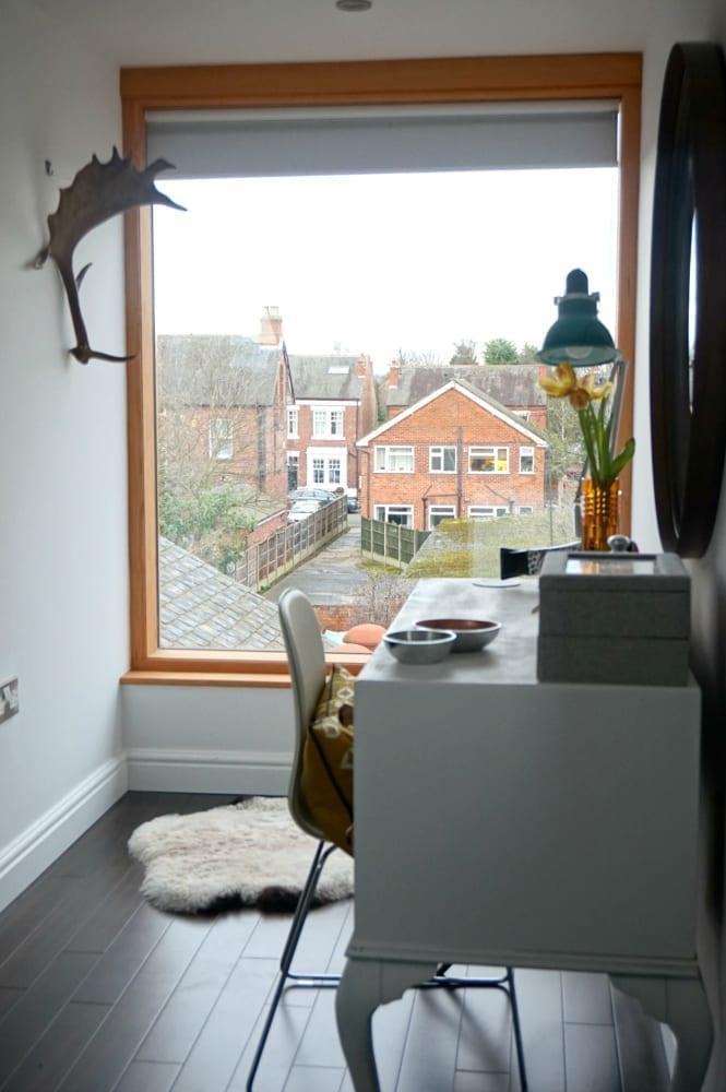 Large loft window