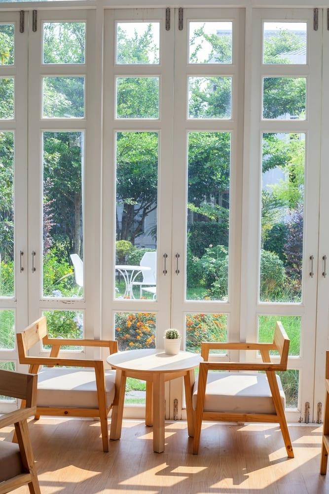 Patio Window view