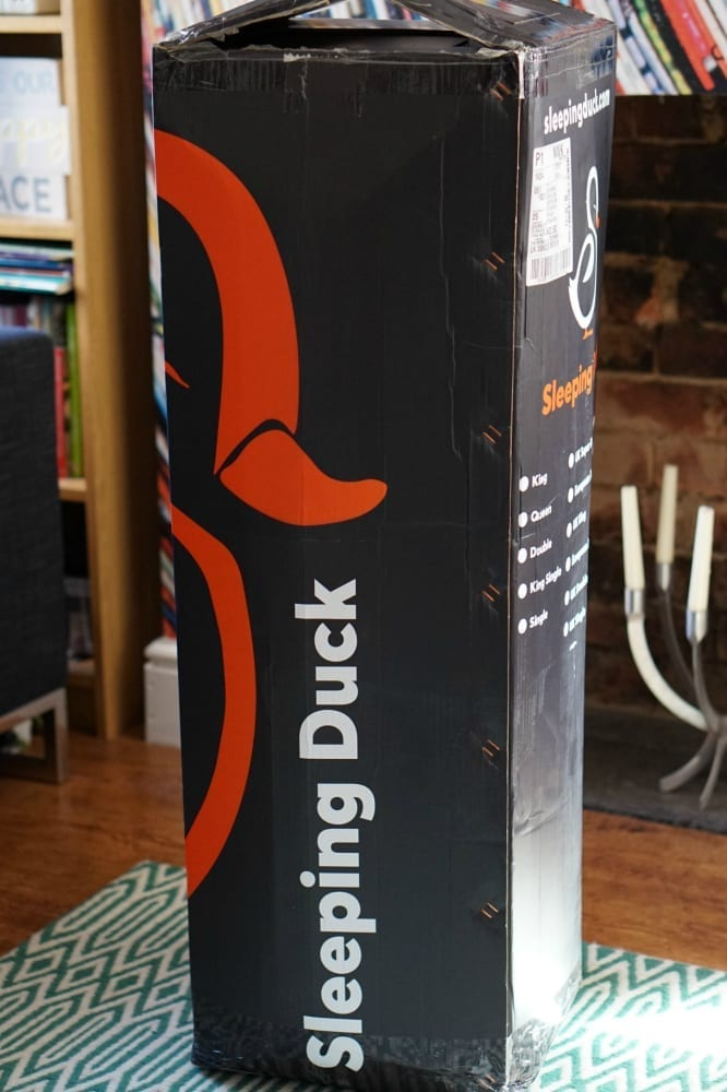 Sleeping Duck packaging