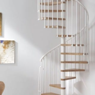 Installing Spiral Staircases in Small Spaces