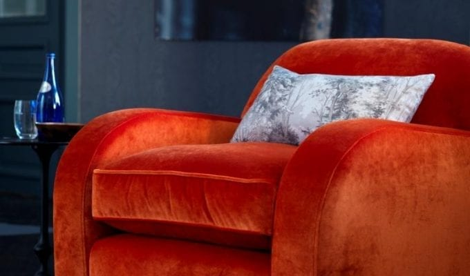 Ways to Use Velvet in your Home
