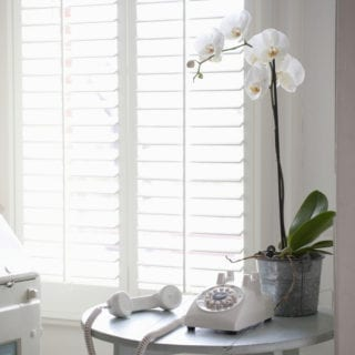 Give your Windows a Contemporary Winter Look with Window Shutters