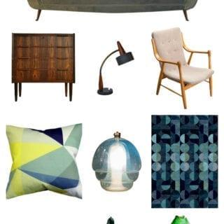 Mid Century Modern Living Room Challenge