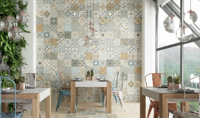 Decorating with Tiles #SlimTile