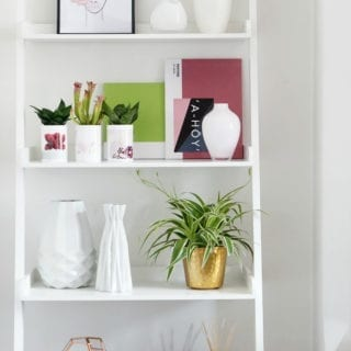 How to Style a Shelf for under £100 with Photobox