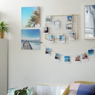 How to Create a Wall Collage with Photographs