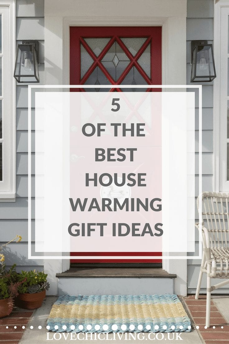 5 of the best housewarming gift ideas you'll ever need, including one or two you won't even have thought of before. If you're stuck for ideas on what to buy friends or family when they move into their new home, check this out.