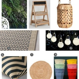 Guest Blogger Series: Shop the Trend – Outside Living