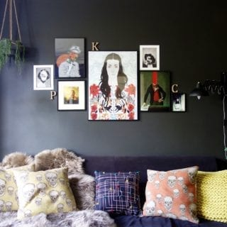7 Easy Ways to Rock the Dark Walls Trend