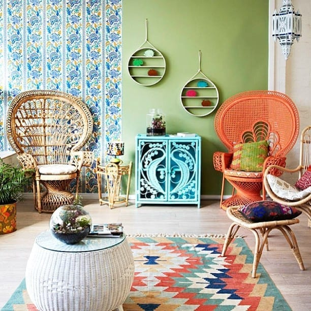 Top rug trends and inspiration for what to lay on your floors in 2017. Perfect home decor ideas, beautiful rug colours for living rooms, bedrooms and hallways. Lots of texture, pattern and styles for the floors in your home in 2017.