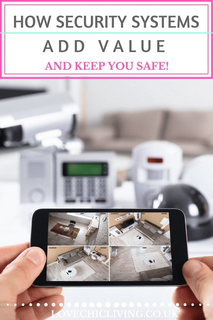 Can an alarm system make you safe AND add value to your home? Find out how, click through to read the full article, and learn how security systems are an absolute necessity for your home #homealarm #alarmsystem #lovechicliving
