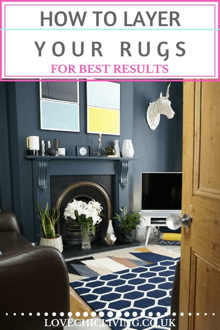 Looking for tips on how to layer rugs? Look no further. It's a popular trend but not always one that's easy to get right, so I've put together some top tips on layering rugs for best results. Click through to give them a read #lovechicliving #interiorsblogger
